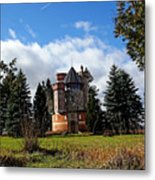 Countryside Castle Metal Print
