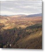 County Carlow Hills Metal Print