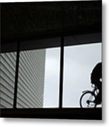 Couple At The Window Metal Print