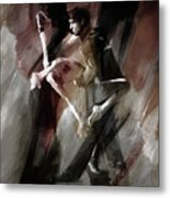 Couple Tango Dance  Metal Print