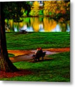 Couple's Therapy Metal Print
