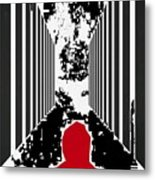 Courage To Proceed Metal Print