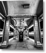 Court Street Subway Metal Print