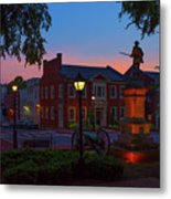 Courthouse Square Metal Print