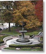 Courthouse Square In Rockville Maryland Metal Print