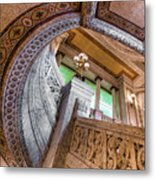 Courthouse Stairs Metal Print