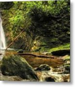 Courthouse Waterfall Metal Print