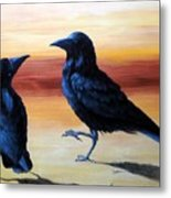 Courting Crows Metal Print