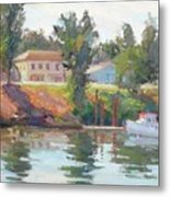 Courtland View Metal Print by Patris M
