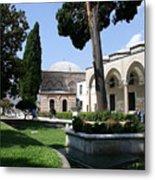 Courtyard Topkapi Palace - Istanbul Metal Print