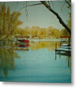 Cove In Early Spring Metal Print