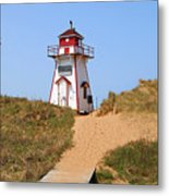 Covehead Harbour Lighthouse 5701 Metal Print
