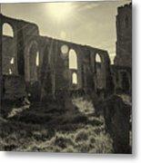 Covehithe Abbey Metal Print
