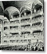Covent Garden Theatre, 1795 Metal Print