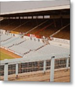 Coventry City - Highfield Road - North Side Thackhall Street Stand 2 - September 1969 Metal Print