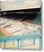Coventry City - Highfield Road - North Side Thackhall Street Stand 3 - August 1991 Metal Print