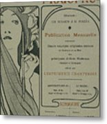 Cover Page From Lestampe Moderne Metal Print