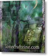 Cover Page Metal Print