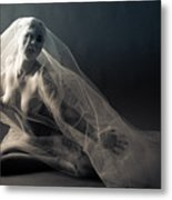 Covered Nude Metal Print