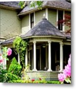 Covered Porch Metal Print