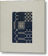 Coverlet (section Of) Metal Print