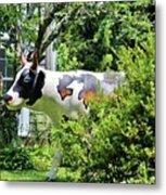 Cow Statue Metal Print