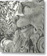 Cowardly Lion Metal Print