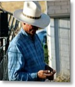 Cowboy.. Metal Print