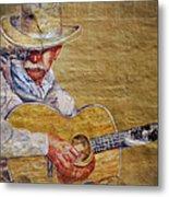 Cowboy Poet Metal Print