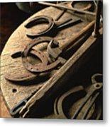 Cowboy Tools Metal Print