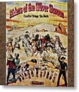 Cowboys And Knives Metal Print