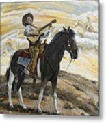 Cowboy's Dream Metal Print