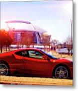 Cowboys Stadium V2 Metal Print