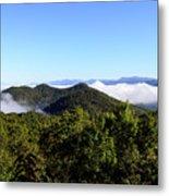 Cowee Overlook At Black Rock Mountain State Park Metal Print