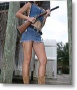 Cowgirl 020 Metal Print