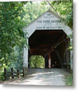 Cox Ford Bridge Metal Print