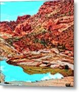 Coyote Butte Metal Print