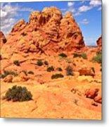 Coyote Buttes Pastel Landscape Metal Print