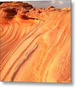 Coyote Buttes Sunset Glow Metal Print