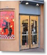 Coyote Cafe Santa Fe Metal Print