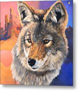 Coyote The Trickster Metal Print