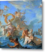 Coypel's The Abduction Of Europa Metal Print