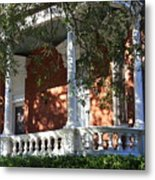 Cozy Savannah Porch Metal Print