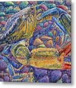 Crabby Metal Print