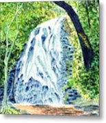 Crabtree Falls - Phantom Of The Blue Ridge Metal Print