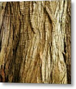 Cracked And Stretched Metal Print