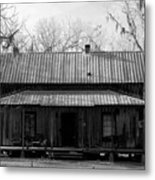 Cracker Cabin Metal Print