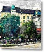 Cracow Art 2 Wawel Metal Print
