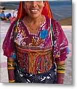 Craft Vendor In Panama City, Panama Metal Print