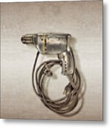 Craftsman Drill Motor Left Side Metal Print